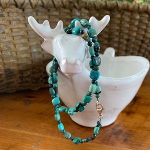 DTR Jay King Mind Finds Turquoise Necklace